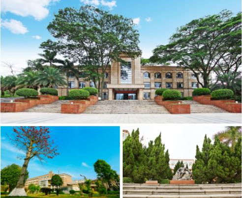 欢迎报考城市中央的花园大学!